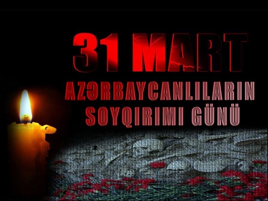 Azərbaycanlıların Soyqırımı Günü: 103 il əvvəl xüsusi qəddarlıqla törədilmiş kütləvi qırğın