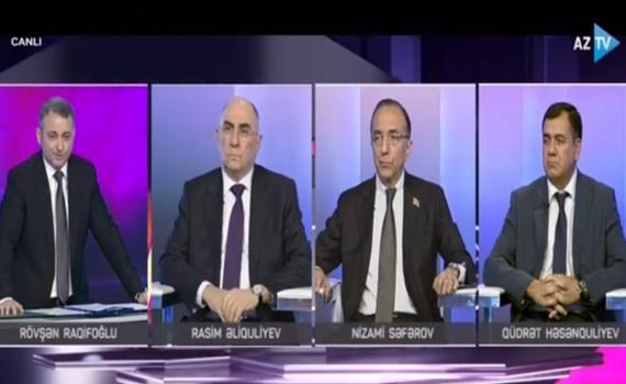 """Akademik Rasim Əliquliyev: """"Azərbaycan Respublikası bu gün özünün informasiya suverenliyini tam təmin edib"""""""