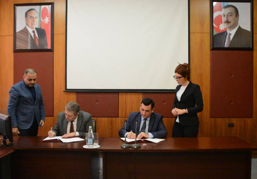 Azərbaycan Milli Elmlər Akademiyası (AMEA) Fizika İnstitutu ilə ADNSU arasında əməkdaşlıq haqqında müqavilə imzalanıb.