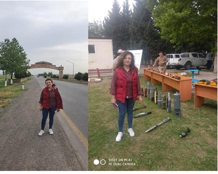 Fizika İnstitutunun əməkdaşı işğaldan azad olunan ərazilərdə tədqiqat işlərinə cəlb edilib