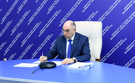 """Akademik Rasim Əliquliyev: """"Elektron elmin formalaşdırılmasına diqqət artırılır"""""""