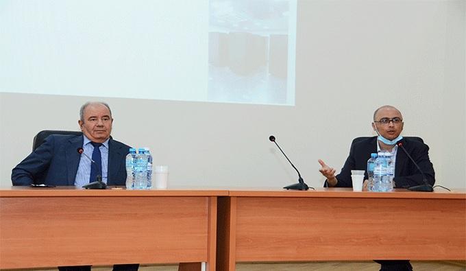 İdarəetmə Sistemləri İnstitutunda ADNSU ilə birgə elmi seminar keçirilib
