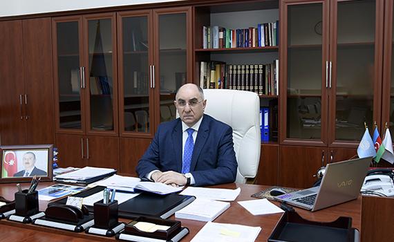AMEA-nın vitse-prezidenti Rasim Əliquliyev GEANT-ın onlayn tədbirində iştirak edib