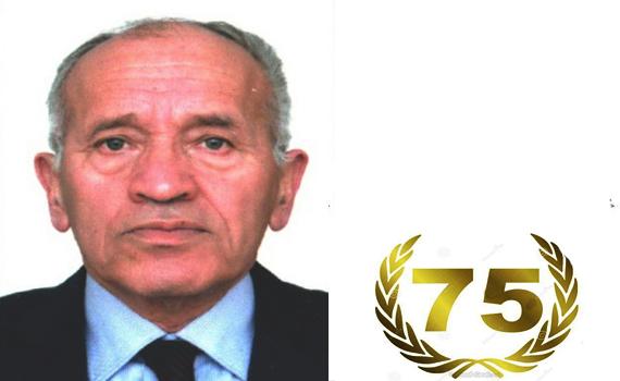AMEA-nin müxbir üzvü İsmayıl İsmayılovu 75 illik yubileyi münasibətilə təbrik edirik!