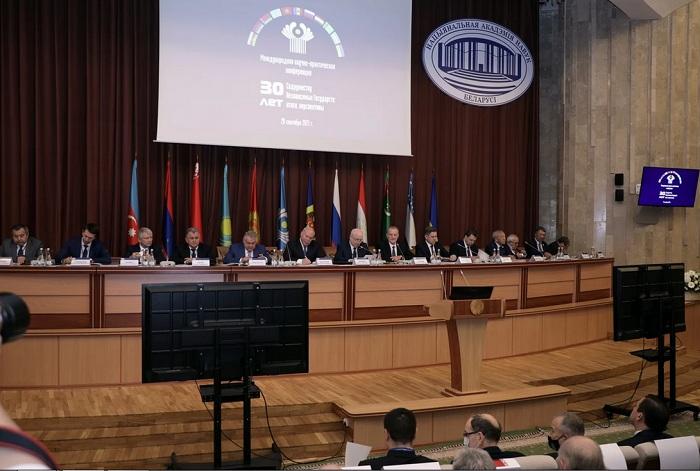 AMEA nümayəndələri Minskdə beynəlxalq elmi-praktik konfransda və BEAA-nın 34-cü sessiyasında iştirak ediblər
